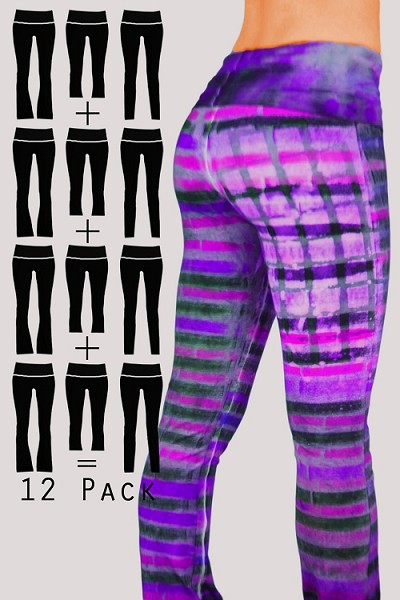 12 PACK Surprise Yoga Pants